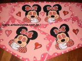 Conjunto de Tapetes Infatil Minnie